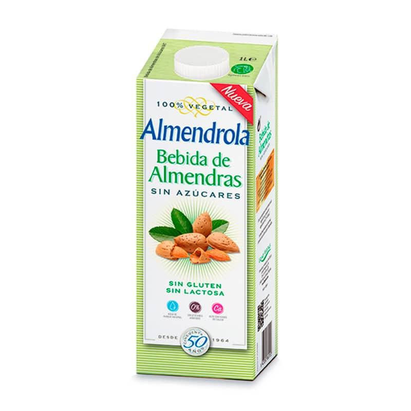 ALMENDROLA BEBIDAS DE ALMENDRAS SIN AZUCARES X 1LT.FD