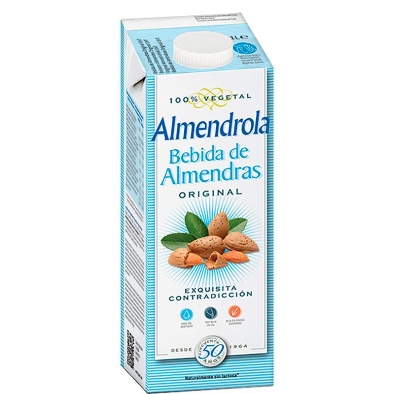 ALMENDROLA BEBIDA DE ALMENDRAS ORIGINAL X 1L.SF