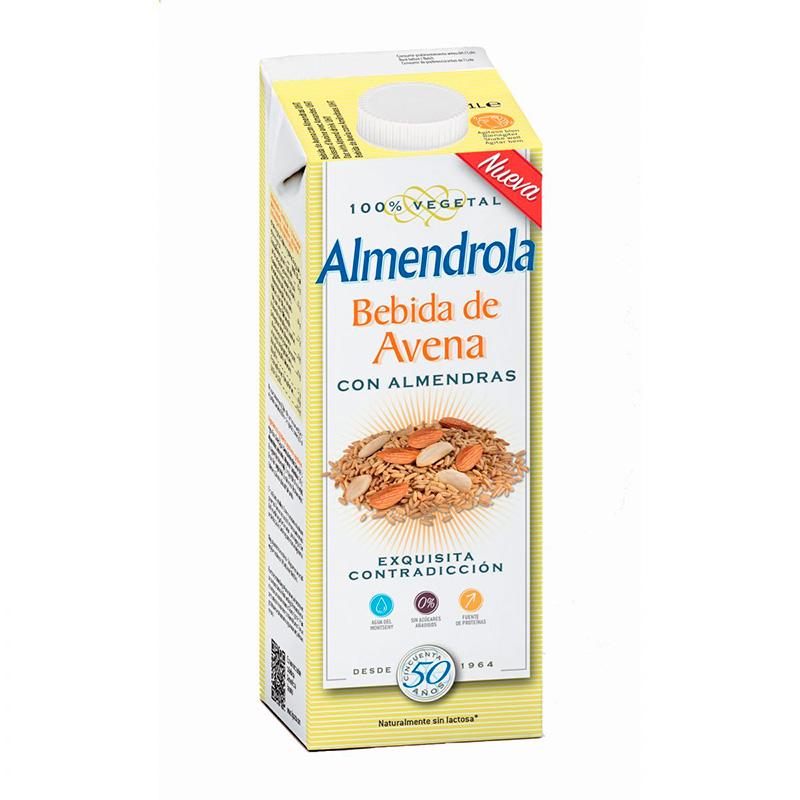 ALMENDROLA BEBIDA ALMENDRA Y AVENA 1LT EQ
