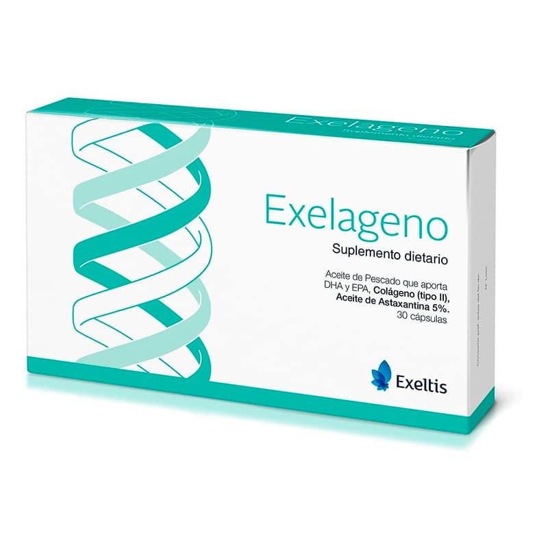 EXELAGENO SUPL.DIETARIO X 30CAP.EX