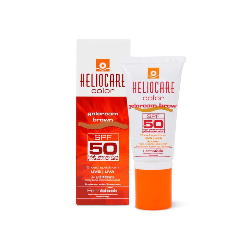 HELIOCARE COLOR GELCREAM BROWN SPF50 X 50ML.MF