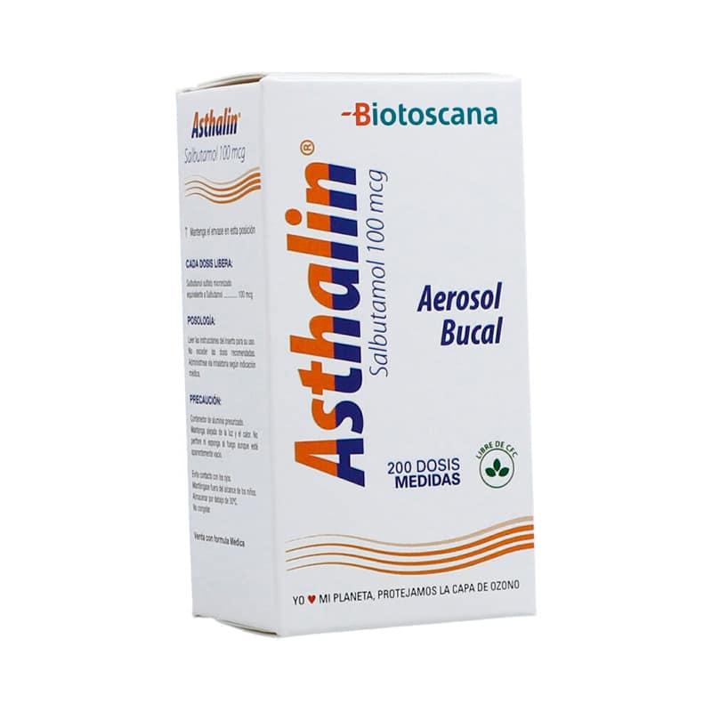 ASTHALIN 100MCG AERO.BUC.200DS.BP